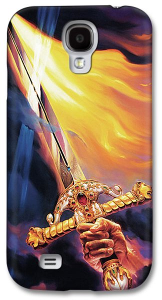 Faith Paintings Galaxy S4 Cases - Sword of the Spirit Galaxy S4 Case by Jeff Haynie