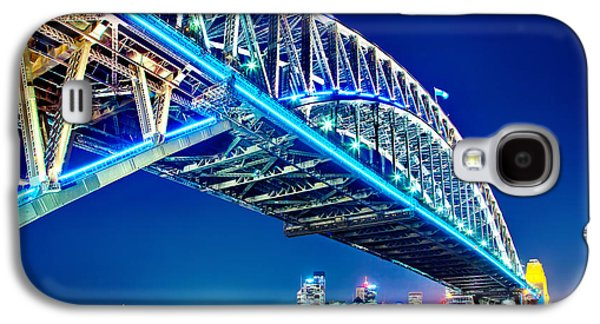 Vivid Colour Galaxy S4 Cases - Sydney Blues Galaxy S4 Case by Az Jackson