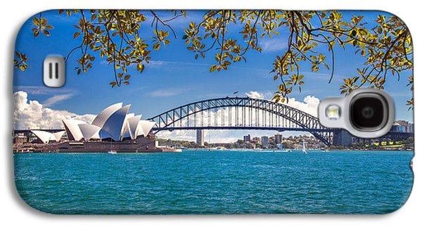 Recently Sold -  - Light Galaxy S4 Cases - Sydney Harbour Skyline 2 Galaxy S4 Case by Az Jackson