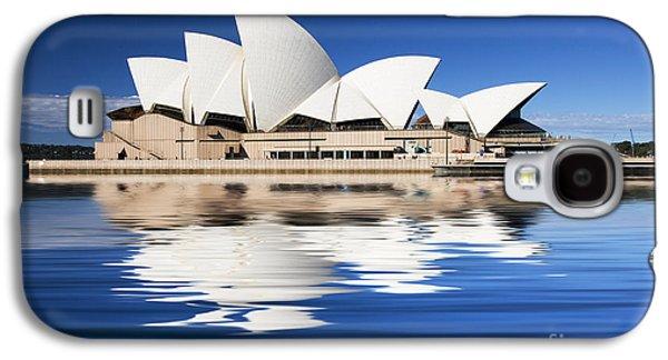 Icon Galaxy S4 Cases - Sydney Icon Galaxy S4 Case by Sheila Smart
