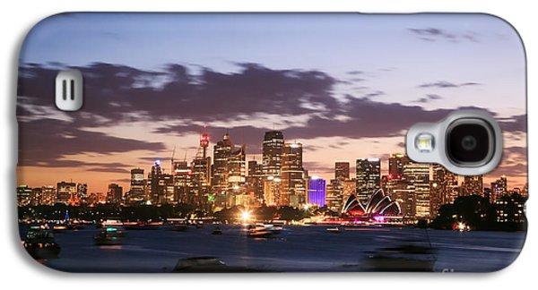 Sydney Skyline At Dusk Australia Galaxy S4 Case by Matteo Colombo