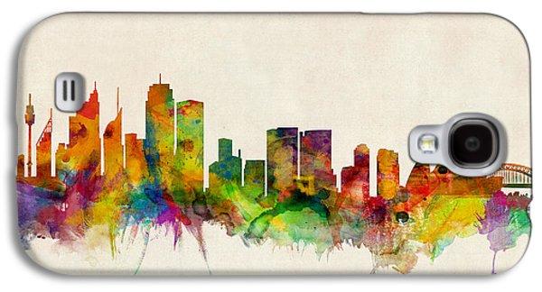 Sydney Skyline Galaxy S4 Case by Michael Tompsett