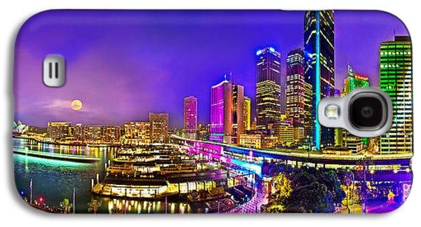 Vivid Colour Galaxy S4 Cases - Sydney Vivid Festival Galaxy S4 Case by Az Jackson