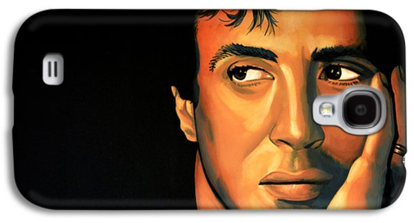Plans Paintings Galaxy S4 Cases - Sylvester Stallone Galaxy S4 Case by Paul  Meijering