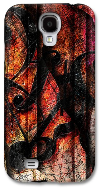 Classical Music Galaxy S4 Cases - Symblz Galaxy S4 Case by Gary Bodnar