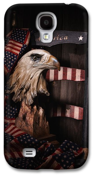 Concept Photographs Galaxy S4 Cases - Symbol of America Still Life Galaxy S4 Case by Tom Mc Nemar