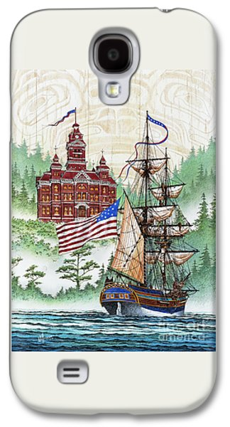 Lady Washington Galaxy S4 Cases - Symbols of Our Heritage Galaxy S4 Case by James Williamson