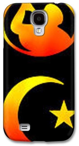 Russian Icon Galaxy S4 Cases - SYMBOLS of RELIGION Galaxy S4 Case by Daniel Hagerman