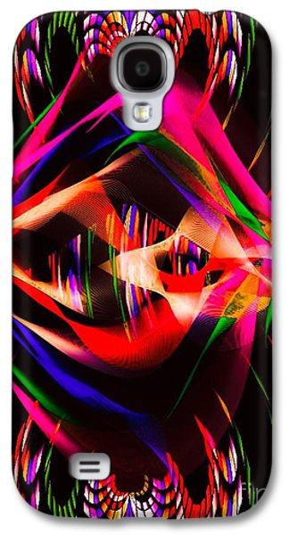 Abstract Digital Art Galaxy S4 Cases - Symmetric  Galaxy S4 Case by Gayle Price Thomas