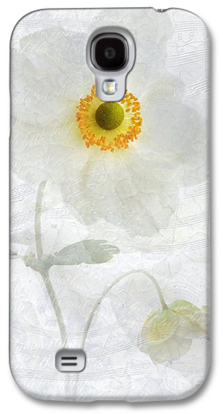 Close Focus Floral Galaxy S4 Cases - Symphony Galaxy S4 Case by John Edwards