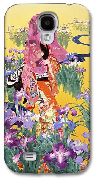 Purple Robe Galaxy S4 Cases - Syoubu Galaxy S4 Case by Haruyo Morita