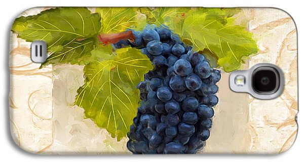Fruit And Wine Galaxy S4 Cases - Syrah II Galaxy S4 Case by Lourry Legarde