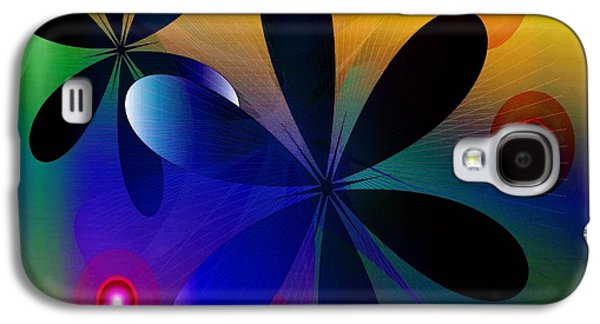 Abstracts Sculptures Galaxy S4 Cases - System Galaxy S4 Case by Iris Gelbart
