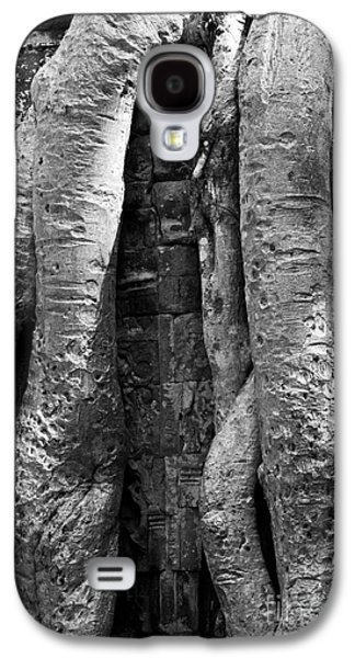 Tree Roots Galaxy S4 Cases - Ta Prohm Roots And Stone 04 Galaxy S4 Case by Rick Piper Photography