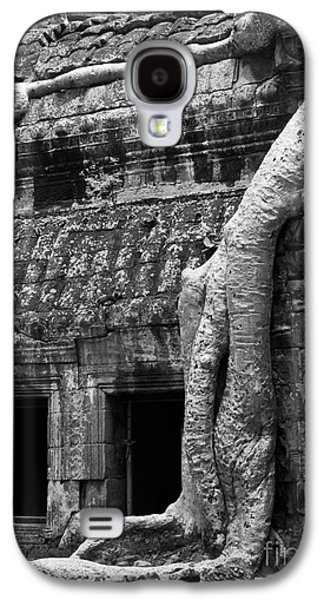 Tree Roots Galaxy S4 Cases - Ta Prohm Roots And Stone 05 Galaxy S4 Case by Rick Piper Photography