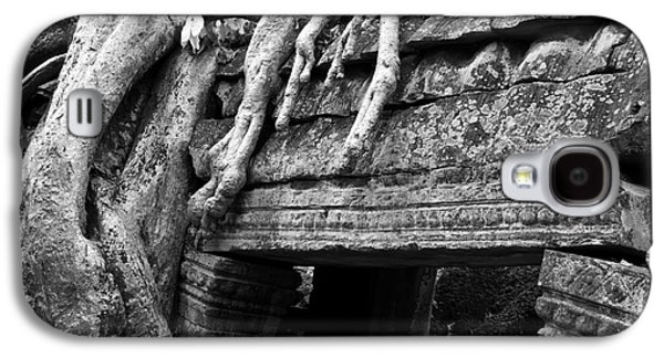 Tree Roots Galaxy S4 Cases - Ta Prohm Roots And Stone 15 Galaxy S4 Case by Rick Piper Photography