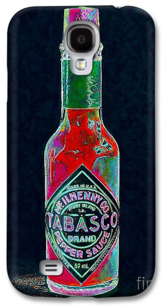 Wing Chee Tong Galaxy S4 Cases - Tabasco Sauce 20130402 Galaxy S4 Case by Wingsdomain Art and Photography