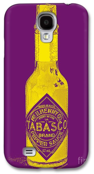 Wing Chee Tong Galaxy S4 Cases - Tabasco Sauce 20130402grd Galaxy S4 Case by Wingsdomain Art and Photography
