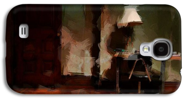 Table Lamp Chair Galaxy S4 Case by H James Hoff