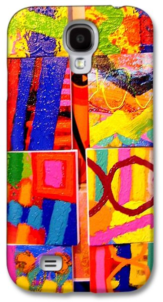 Decorative Photographs Galaxy S4 Cases - Tableau of Paintings - I spy. Galaxy S4 Case by John  Nolan