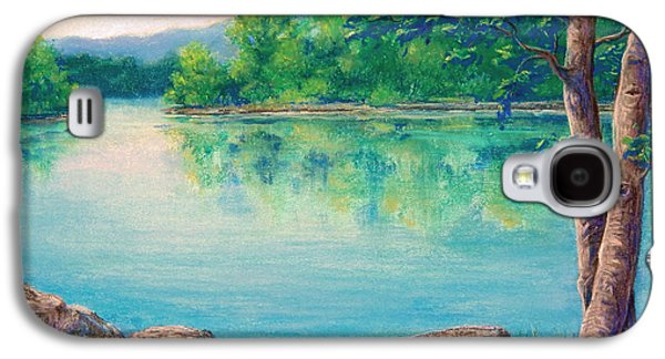 Waterscape Pastels Galaxy S4 Cases - Tablerock Cove Galaxy S4 Case by Tanja Ware