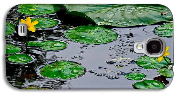 Lilly Pad Galaxy S4 Cases - Tadpole Haven Galaxy S4 Case by Frozen in Time Fine Art Photography
