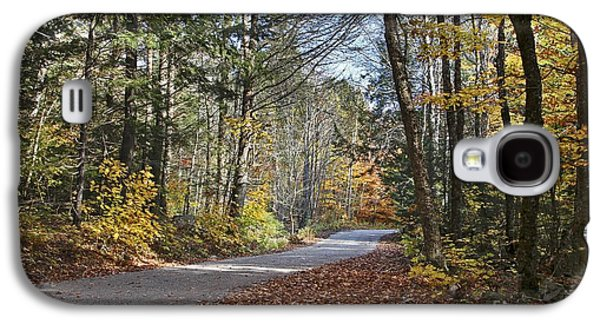 Rural Maine Roads Galaxy S4 Cases - Take A Walk Galaxy S4 Case by Karin Pinkham