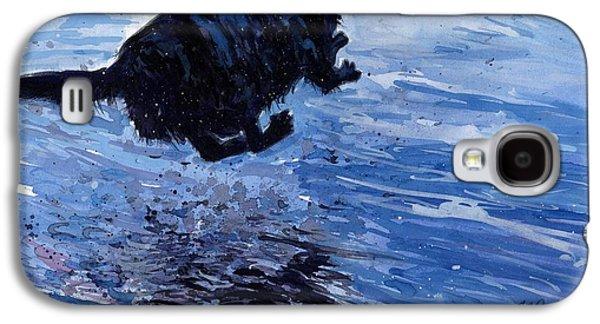 Water Retrieve Galaxy S4 Cases - Take Flight Galaxy S4 Case by Molly Poole