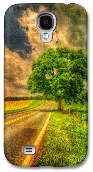 Rural Scenes Digital Galaxy S4 Cases - Take Me Home Galaxy S4 Case by Lois Bryan