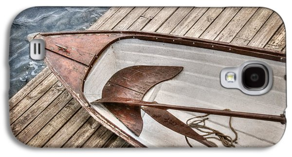 Rowboat Digital Art Galaxy S4 Cases - Take Me To The River Galaxy S4 Case by Lori Deiter