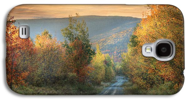 Maine Roads Galaxy S4 Cases - Take the Back Roads Galaxy S4 Case by Lori Deiter