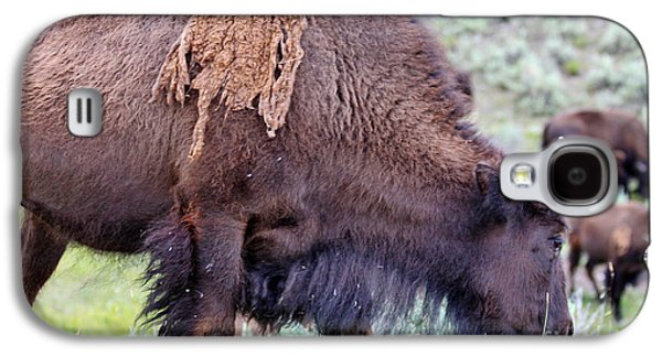 Bison Digital Galaxy S4 Cases - Taking Time To Smell The Wildflowers Galaxy S4 Case by Janice Rae Pariza