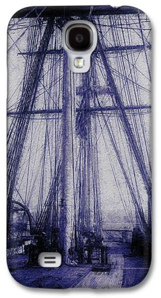 Seventeenth Century Galaxy S4 Cases - Tall Ship 2 Galaxy S4 Case by Jack Zulli