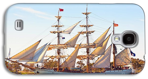 Tall Ship Galaxy S4 Cases - Tall Ship Galaxy S4 Case by Bill  Robinson