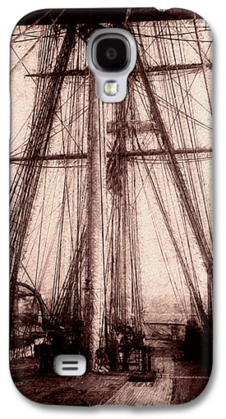 Seventeenth Century Galaxy S4 Cases - Tall Ship Galaxy S4 Case by Jack Zulli