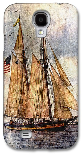 Tall Ships Art Galaxy S4 Case by Dale Kincaid