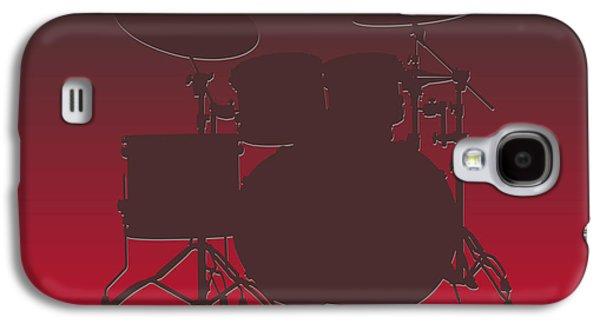 Tampa Bay Buccaneers Drum Set Galaxy S4 Case by Joe Hamilton