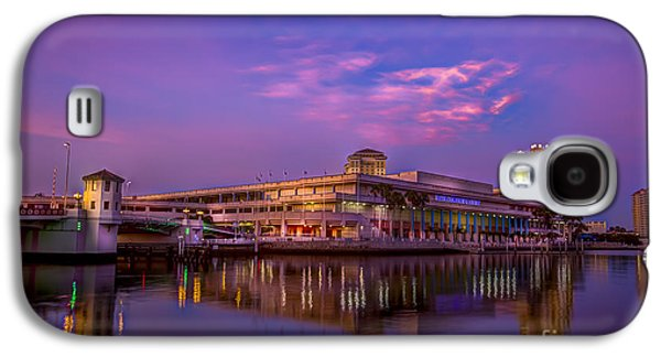 Waterscape Galaxy S4 Cases - Tampa Convention Center at Dusk Galaxy S4 Case by Marvin Spates