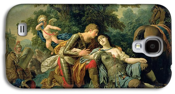 First Love Galaxy S4 Cases - Tancred And Clorinda, 1761 Oil On Canvas Galaxy S4 Case by Louis Jean Francois I Lagrenee
