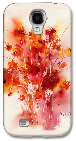 Tangerine Tango Galaxy S4 Case by Hailey E Herrera