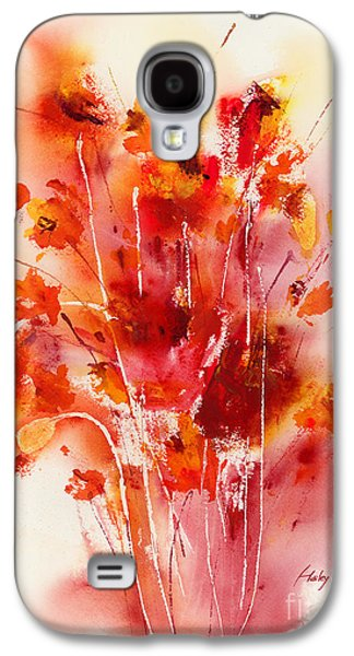 Tangerines Galaxy S4 Cases - Tangerine Tango Galaxy S4 Case by Hailey E Herrera