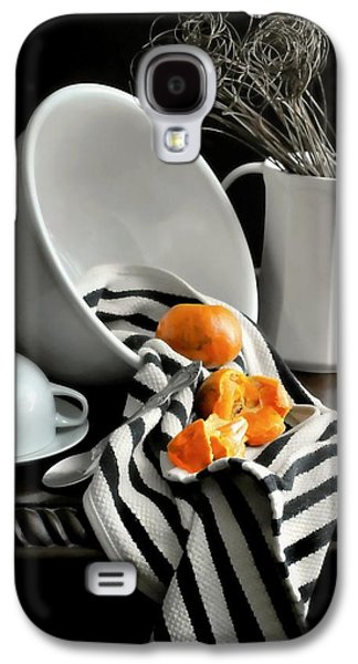 Tangerines Galaxy S4 Case by Diana Angstadt