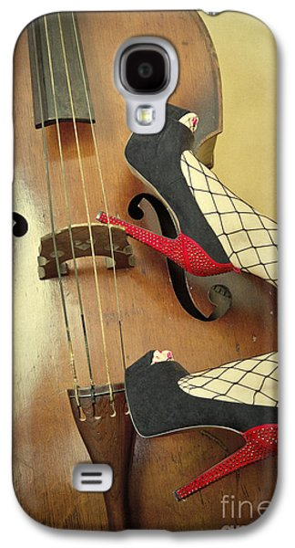 Wooden Fish Galaxy S4 Cases - Tango For Strings Galaxy S4 Case by Evelina Kremsdorf