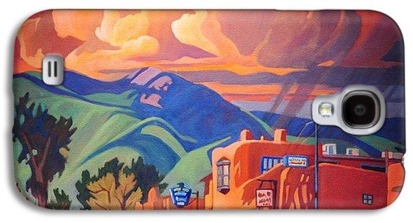 Taos Galaxy S4 Cases - Taos Inn Monsoon Galaxy S4 Case by Art James West