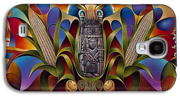 Sun Galaxy S4 Cases - Tapestry of Gods Galaxy S4 Case by Ricardo Chavez-Mendez