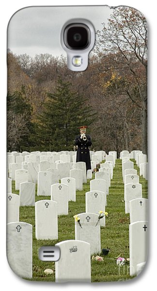 Headstones Galaxy S4 Cases - Taps Galaxy S4 Case by Terry Rowe