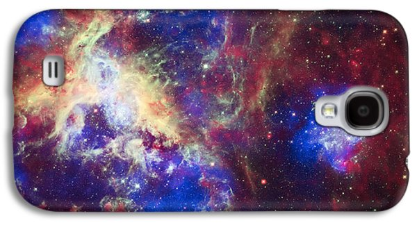 The Heavens Galaxy S4 Cases - Tarantula Nebula 6  Galaxy S4 Case by The  Vault - Jennifer Rondinelli Reilly