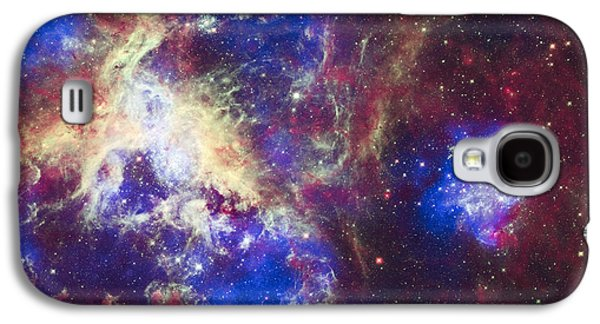 Constellations Galaxy S4 Cases - Tarantula Nebula Galaxy S4 Case by Adam Romanowicz