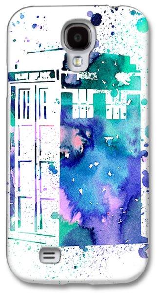 Tardis Galaxy S4 Cases - Tardis Galaxy S4 Case by Luke and Slavi