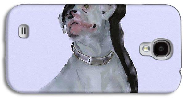 Boxer Digital Art Galaxy S4 Cases - Target Galaxy S4 Case by Sheila Lubeski